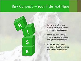 Barking dog PowerPoint Template - Slide 81