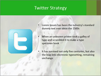 Barking dog PowerPoint Template - Slide 9