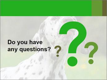 Barking dog PowerPoint Template
