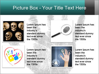 Hand PowerPoint Template - Slide 14