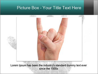 Hand PowerPoint Template - Slide 16