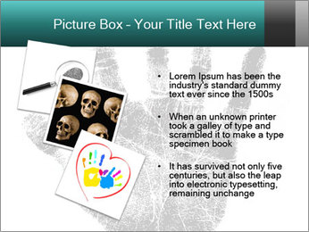 Hand PowerPoint Template - Slide 17
