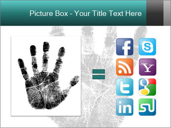 Hand PowerPoint Template - Slide 21