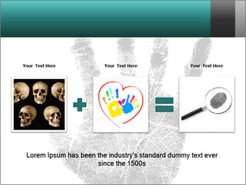 Hand PowerPoint Template - Slide 22