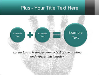 Hand PowerPoint Template - Slide 75