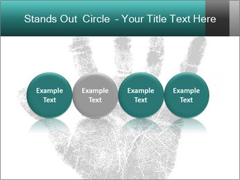 Hand PowerPoint Template - Slide 76