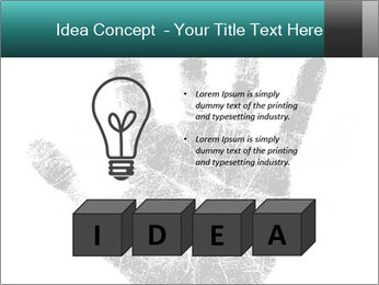 Hand PowerPoint Template - Slide 80