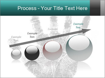 Hand PowerPoint Template - Slide 87