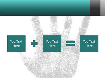 Hand PowerPoint Template - Slide 95