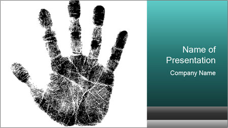 Hand PowerPoint Template