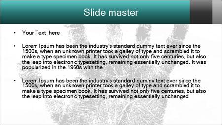 Hand PowerPoint Template - Slide 2