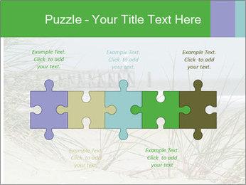 Marram Grass growing PowerPoint Templates - Slide 41