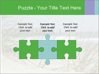 Marram Grass growing PowerPoint Templates - Slide 42