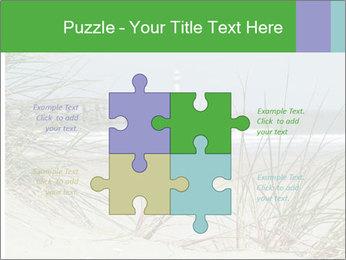 Marram Grass growing PowerPoint Templates - Slide 43