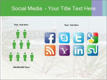 Marram Grass growing PowerPoint Templates - Slide 5