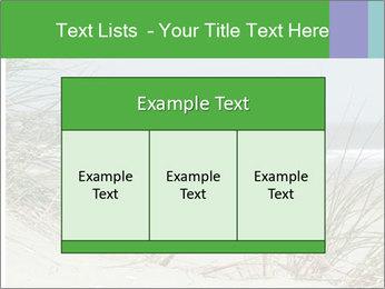 Marram Grass growing PowerPoint Templates - Slide 59