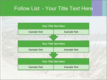 Marram Grass growing PowerPoint Templates - Slide 60