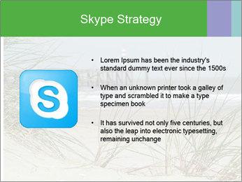 Marram Grass growing PowerPoint Templates - Slide 8