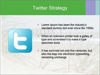 Marram Grass growing PowerPoint Templates - Slide 9