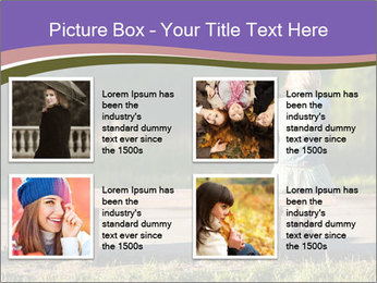Girl sitting alone PowerPoint Templates - Slide 14