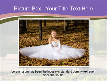 Girl sitting alone PowerPoint Templates - Slide 15