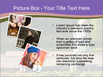 Girl sitting alone PowerPoint Templates - Slide 17