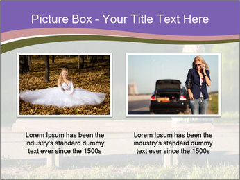 Girl sitting alone PowerPoint Templates - Slide 18