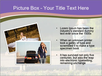 Girl sitting alone PowerPoint Templates - Slide 20