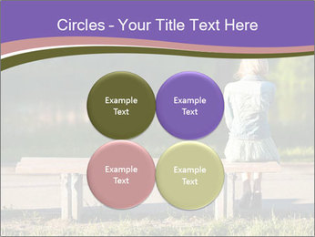 Girl sitting alone PowerPoint Templates - Slide 38