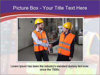 Two harbor workers PowerPoint Templates - Slide 15