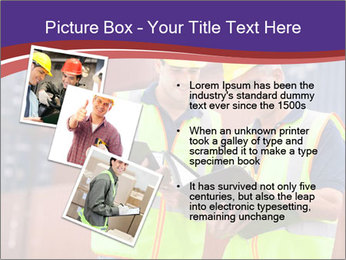 Two harbor workers PowerPoint Template - Slide 17