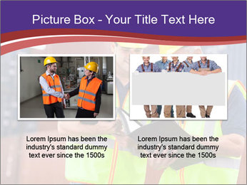 Two harbor workers PowerPoint Template - Slide 18