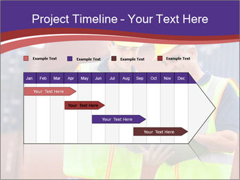 Two harbor workers PowerPoint Templates - Slide 25