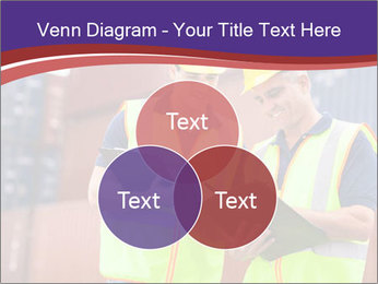 Two harbor workers PowerPoint Templates - Slide 33