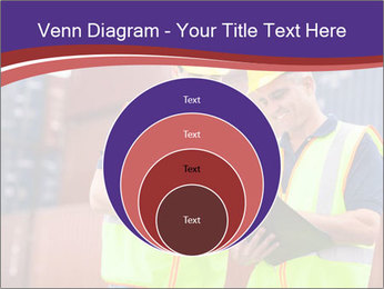 Two harbor workers PowerPoint Template - Slide 34