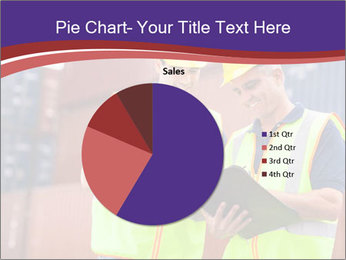 Two harbor workers PowerPoint Templates - Slide 36