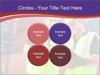 Two harbor workers PowerPoint Template - Slide 38