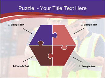 Two harbor workers PowerPoint Templates - Slide 40