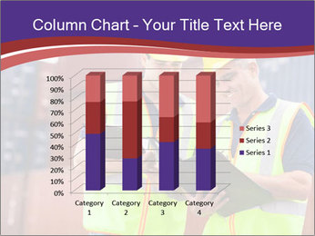 Two harbor workers PowerPoint Template - Slide 50