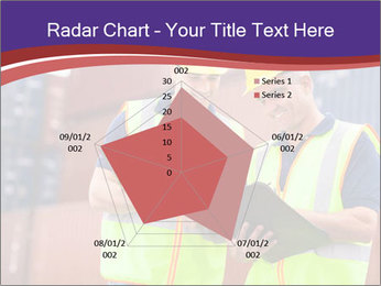 Two harbor workers PowerPoint Templates - Slide 51