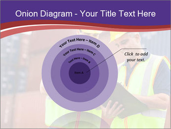 Two harbor workers PowerPoint Templates - Slide 61