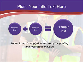 Two harbor workers PowerPoint Templates - Slide 75