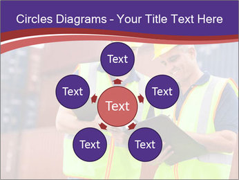 Two harbor workers PowerPoint Template - Slide 78