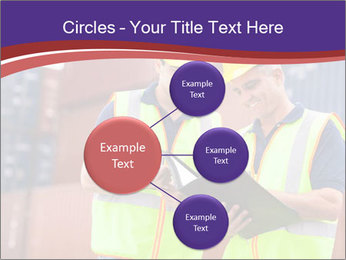 Two harbor workers PowerPoint Templates - Slide 79