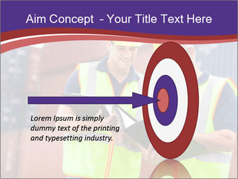 Two harbor workers PowerPoint Template - Slide 83