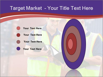 Two harbor workers PowerPoint Templates - Slide 84