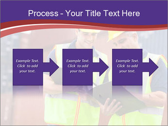 Two harbor workers PowerPoint Templates - Slide 88