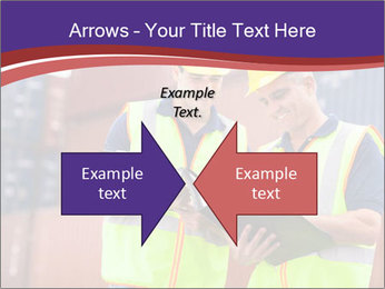 Two harbor workers PowerPoint Template - Slide 90
