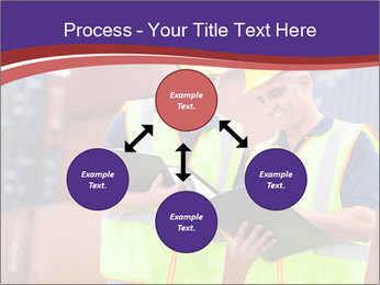 Two harbor workers PowerPoint Templates - Slide 91