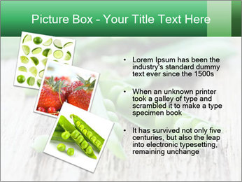Young fresh juicy pods PowerPoint Templates - Slide 17